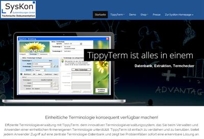 neue homepage tippyterm